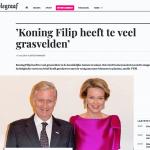De Telegraaf - 1 mei 2018 - Louis De Jaeger - Commensalist ByeByeGrass