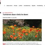 Tuinieren door niets te doen - MO Magazine - Mondiaal 21 juni 2018 - Louis De Jaeger - Commensalist ByeByeGrass