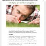 ByeByeGrass - Commensalist - Centaurea - Ecoduct - Bye Bye Grass - Pers - Make Belgium Wild Again - De Standaard 2