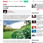 ByeByeGrass - Commensalist - Centaurea - Ecoduct - Bye Bye Grass - Pers - Make Belgium Wild Again - Knack - Dirk Draulans!