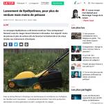 ByeByeGrass - Commensalist - Centaurea - Ecoduct - Bye Bye Grass - Pers - Make Belgium Wild Again - Le Vif