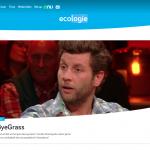 ByeByeGrass - Commensalist - Centaurea - Ecoduct - Bye Bye Grass - Pers - Make Belgium Wild Again - Van Gils en gasten - Bartel Van Riet