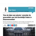Knack - 1 mei 2018 - Louis De Jaeger - Commensalist