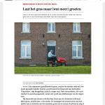 ByeByeGrass - Commensalist - Centaurea - Ecoduct - Bye Bye Grass - Pers - Make Belgium Wild Again - De Standaard