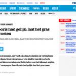 ByeByeGrass - Commensalist - Centaurea - Ecoduct - Bye Bye Grass - Pers - Make Belgium Wild Again - HLN