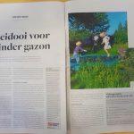 ByeByeGrass - Commensalist - Centaurea - Ecoduct - Bye Bye Grass - Pers - Make Belgium Wild Again - Standaard - 3 mei