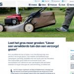 ByeByeGrass - Commensalist - Centaurea - Ecoduct - Bye Bye Grass - Pers - Make Belgium Wild Again - VRT Nieuws